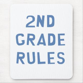 2nd Grade Rules Mousepad
