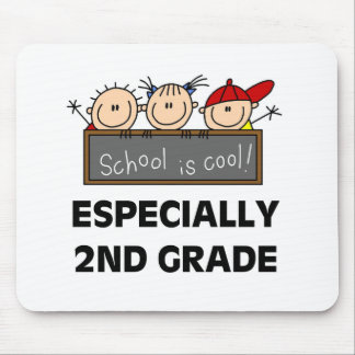 2nd Grade School is Cool Mouse Mat