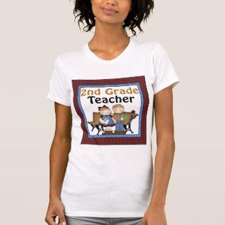 2nd Grade Teacher Present Tee Shirts