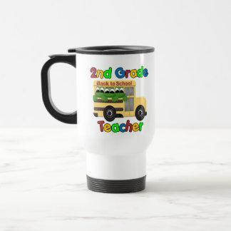 2nd Grade Teacher Stainless Steel Travel Mug