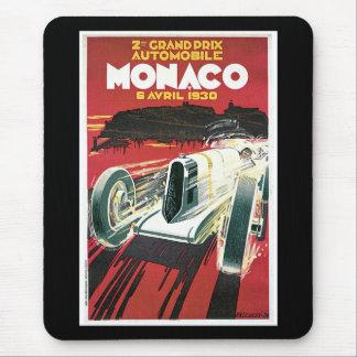 2nd Grand Prix de Monaco Mouse Pad