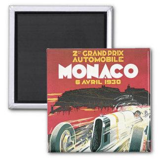 2nd Grand Prix de Monaco Square Magnet