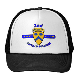 "2ND HEAVY CAVALRY DIVISION ""BUFFALO SOLDIERS"" TRUCKER HAT"