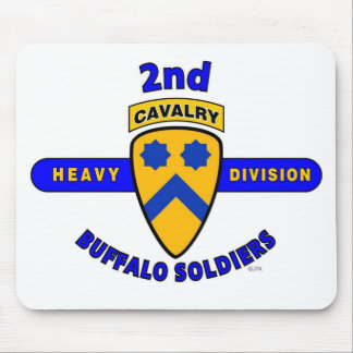 2ND HEAVY CAVALRY DIVISION BUFFALO SOLDIERS MOUSEPADS