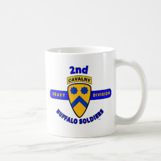 "2ND HEAVY CAVALRY DIVISION ""BUFFALO SOLDIERS"" COFFEE MUGS"