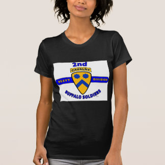 "2ND HEAVY CAVALRY DIVISION ""BUFFALO SOLDIERS"" T SHIRTS"