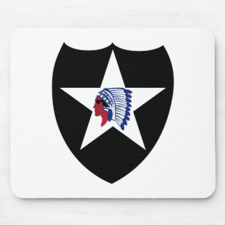 2nd ID Class A Patch Mouse Mats