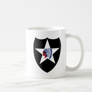 2nd ID Class A Patch Classic White Coffee Mug
