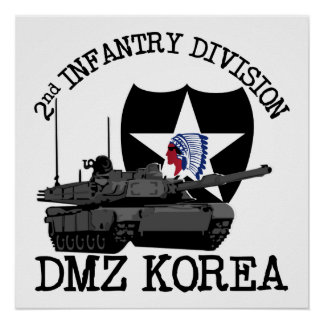 2nd ID DMZ Korea Vet Poster