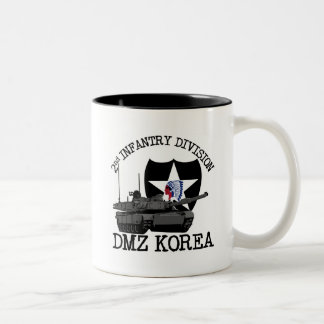 2nd ID DMZ Korea Vet Two-Tone Coffee Mug
