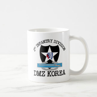 2nd ID Korea DMZ Vet with CIB Coffee Mug