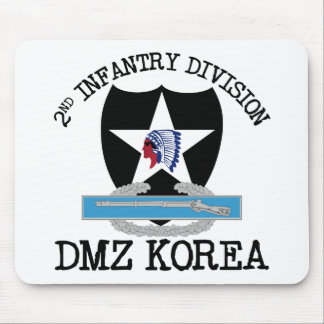 2nd ID Korea DMZ Vet with CIB Mouse Pad