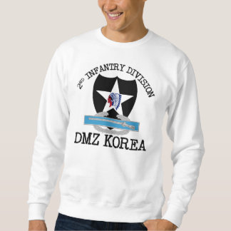 2nd ID Korea DMZ Vet with CIB Sweatshirt