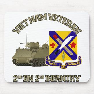 2nd Inf Reg - Vietnam Mouse Pad