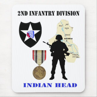 2nd Infantry Division Iraq War Vet Mousepad