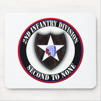 2nd Infantry Division Mouse Pads