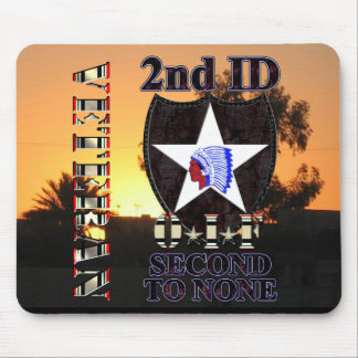 2nd Infantry Division OIF Veteran Mousepad