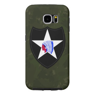 """2nd Infantry Division """"Second to None"""" Samsung Galaxy S6 Cases"""