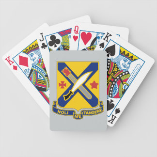 2nd Infantry Regiment Playing Cards