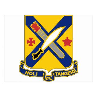 2nd Infantry Regiment Postcard