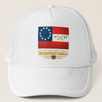 2nd Kentucky Cavalry CSA Trucker Hat