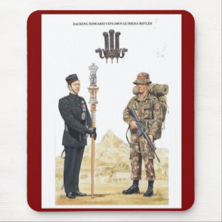 2nd King Edward VII's own Gurkha Rifles Mousepads