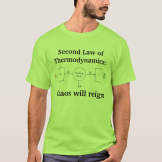 2nd Law of Thermodynamics T-Shirt