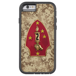 """2nd Marine Division """"The Silent Second"""" Camo iPhone 6 Case"""