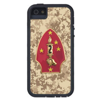 """2nd Marine Division """"The Silent Second"""" Camo iPhone 5/5S Covers"""