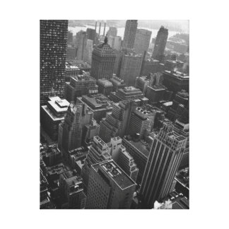 2nd May 1961:  The Chrysler building in New York Canvas Print