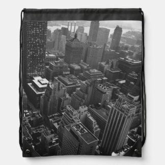2nd May 1961:  The Chrysler building in New York Drawstring Bag