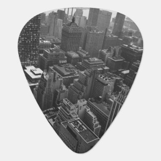 2nd May 1961:  The Chrysler building in New York Guitar Pick