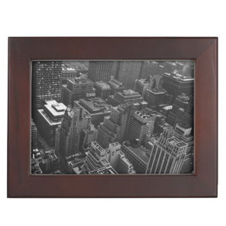 2nd May 1961:  The Chrysler building in New York Keepsake Box