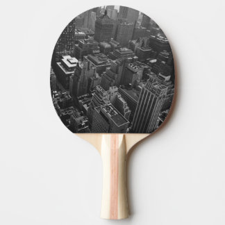 2nd May 1961:  The Chrysler building in New York Ping Pong Paddle