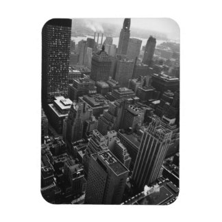 2nd May 1961:  The Chrysler building in New York Rectangular Photo Magnet