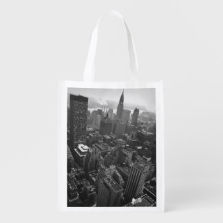 2nd May 1961:  The Chrysler building in New York Reusable Grocery Bag