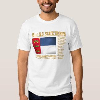 2nd NC State Troops (BA2) Tee Shirt