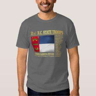 2nd NC State Troops (BA2) Tees
