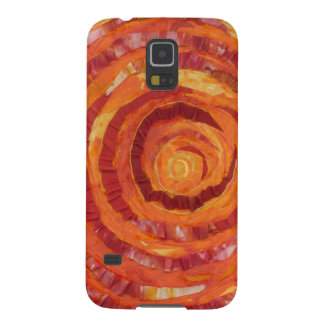 2nd-Sacral Chakra Healing Orange Artwork #2 Cases For Galaxy S5