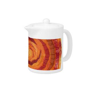 2nd-Sacral Chakra - Orange Paint-Fabric #2