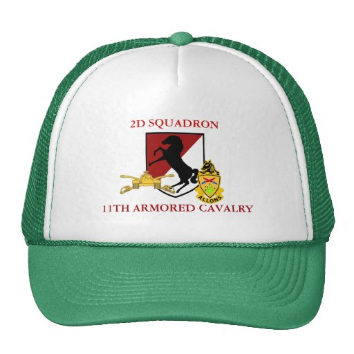 2ND SQUADRON 11TH ARMORED CAVALRY HAT