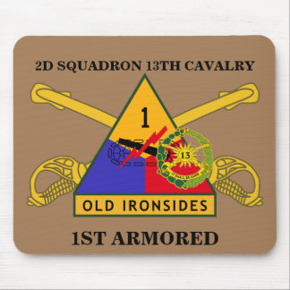 2ND SQUADRON 13TH CAVALRY 1ST ARMORED MOUSEPAD