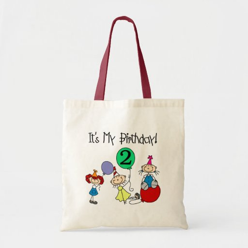 2nd Stick Kids Party Birthday Tshirts and Gifts Bag