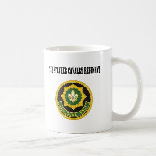 2nd Stryker Cavalry Regiment Coffee Mugs