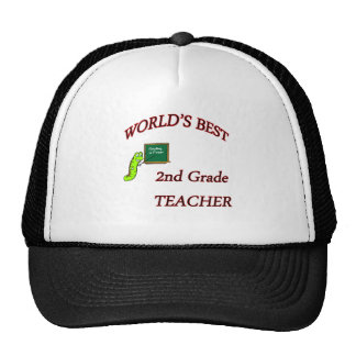 2nd Teacher Trucker Hats