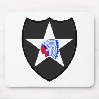 2nd U.S. Infantry Indianhead Division Mouse Pad