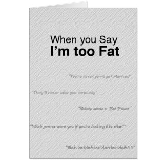 2Phat Greeting Card