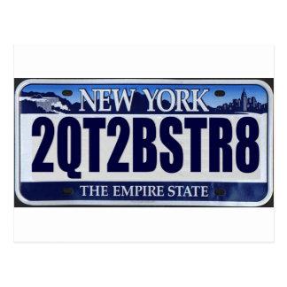 2QT2BSTR8:  New York Postcard