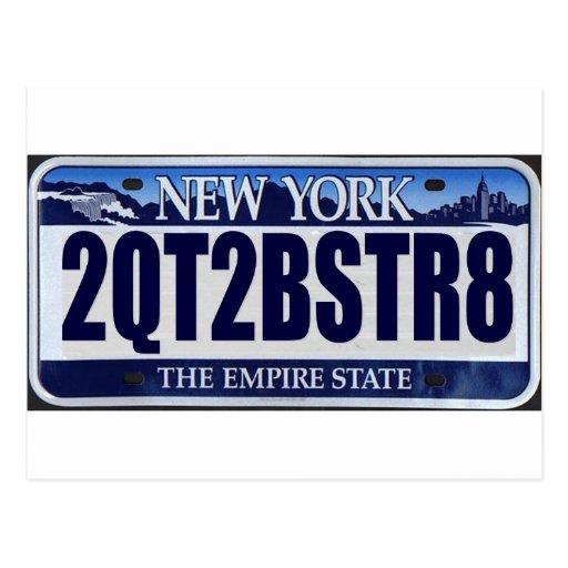 2QT2BSTR8:  New York Postcards