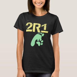 2R1 (2 species 1 Thought) Original Design T-Shirt